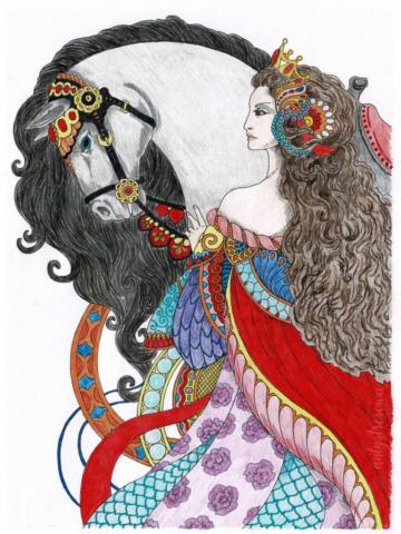 Tatiana Bogema Stolova, Vintage classic coloring pages II