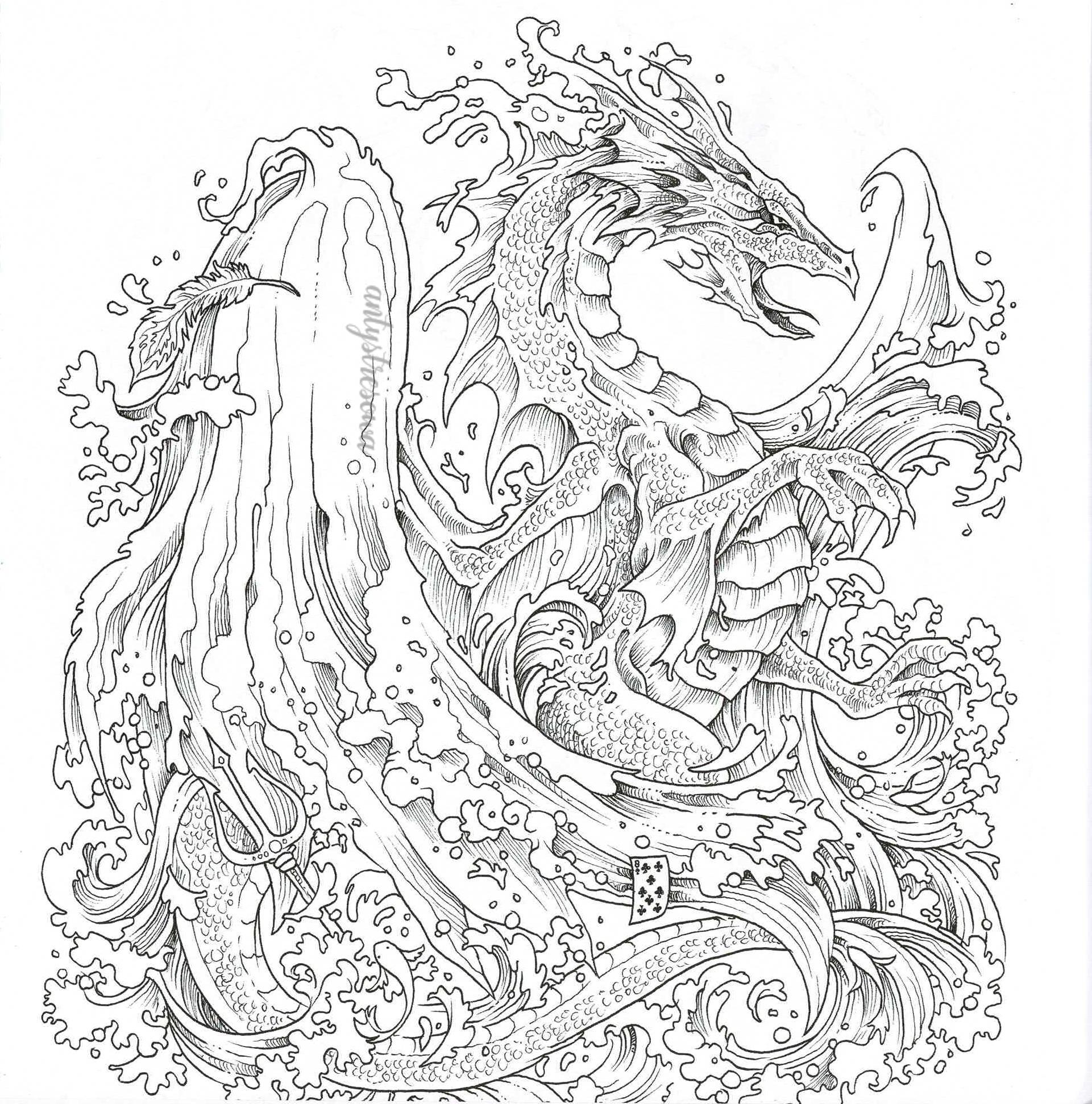 Smok wodny - Imagimorphia, Kerby Rosanes