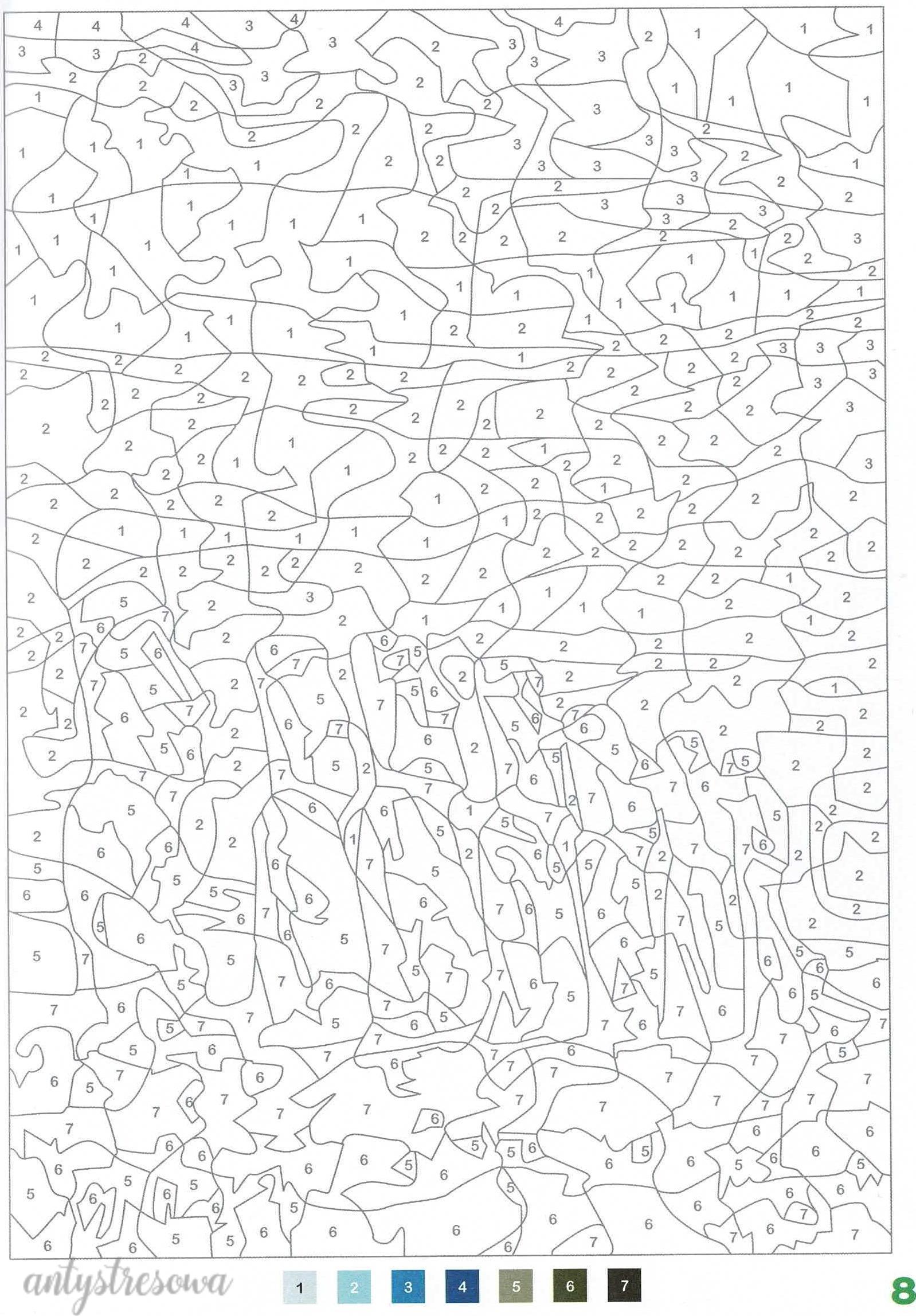 100 Coloriages mystéres - Jérémy Mariez. Strona 8