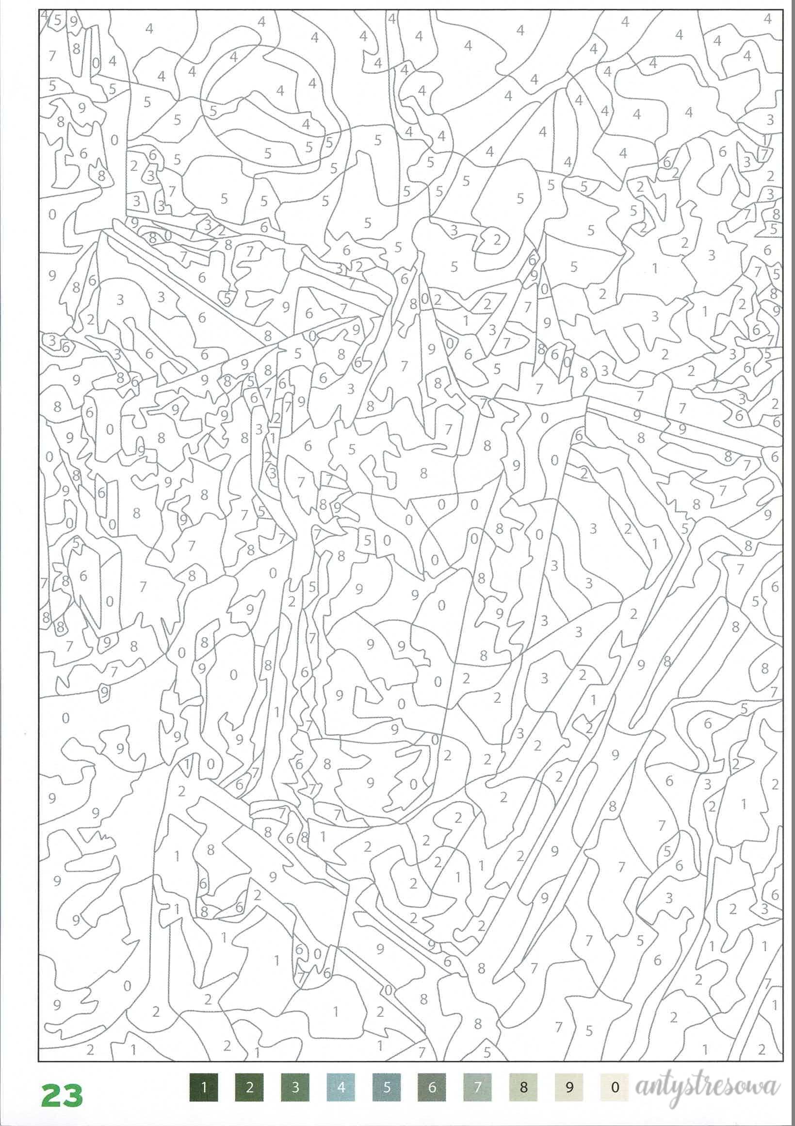 100 Coloriages mystéres - Jérémy Mariez, strona 23
