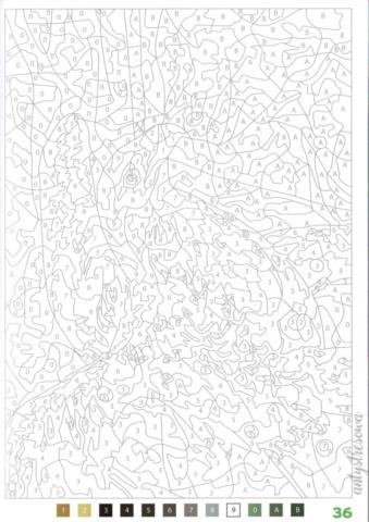 100 Coloriages mystéres - Jérémy Mariez, strona 36