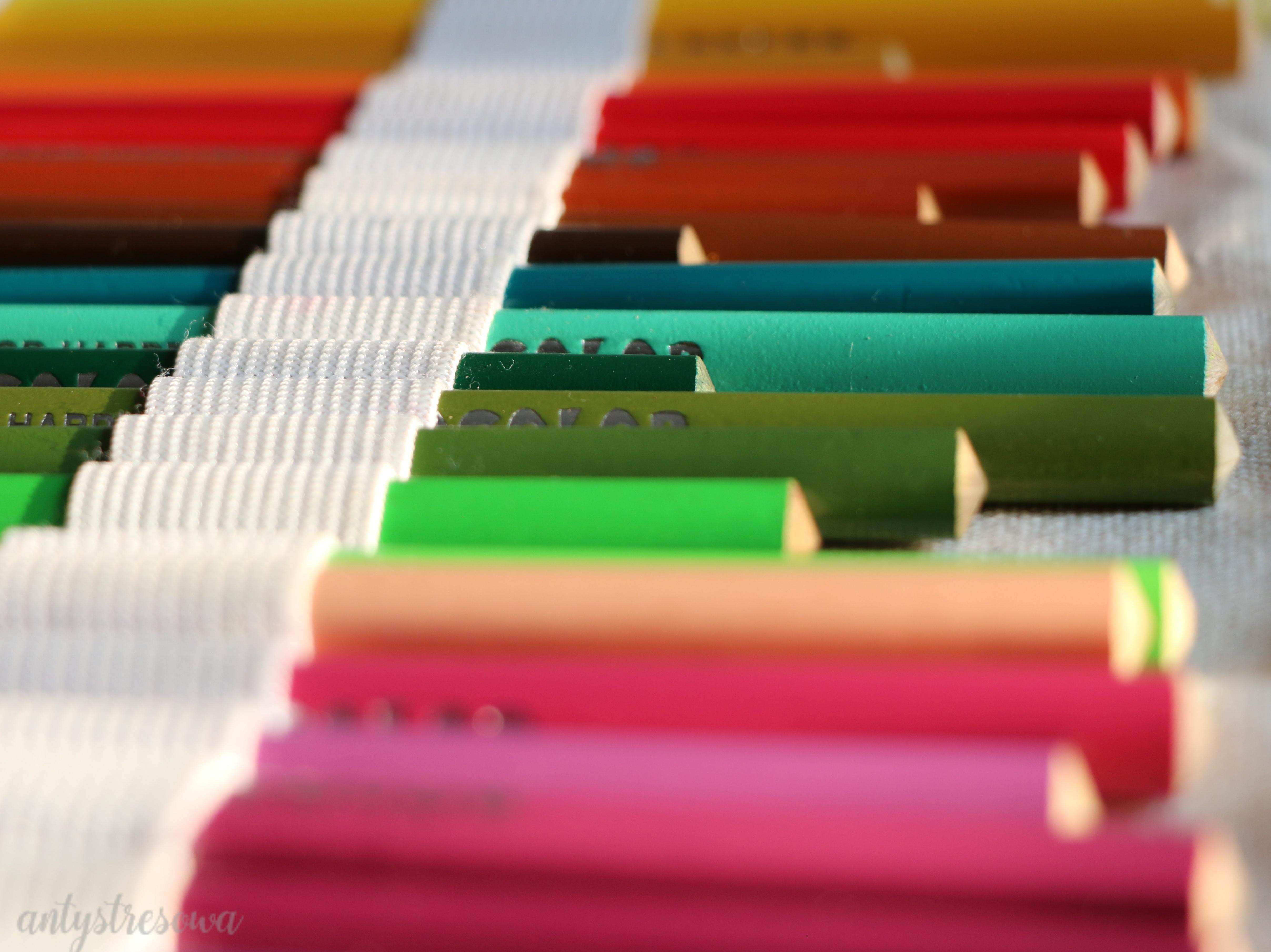 Kredki Koh-I-Noor Tricolor - moje pierwsze kredki