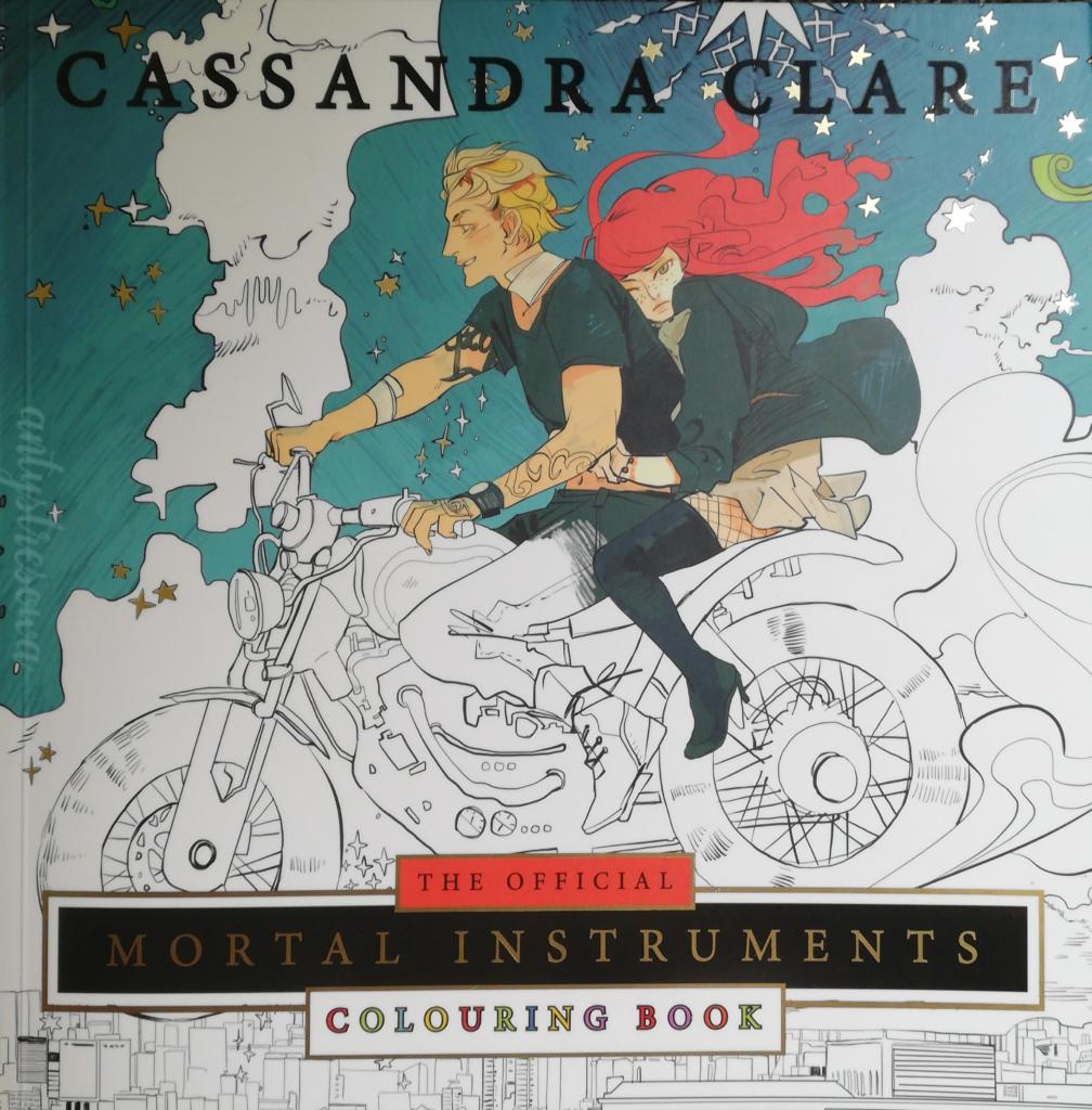 Mortal Instruments Colouring book by Cassandra Clare & Cassandra Jean - okładka książki