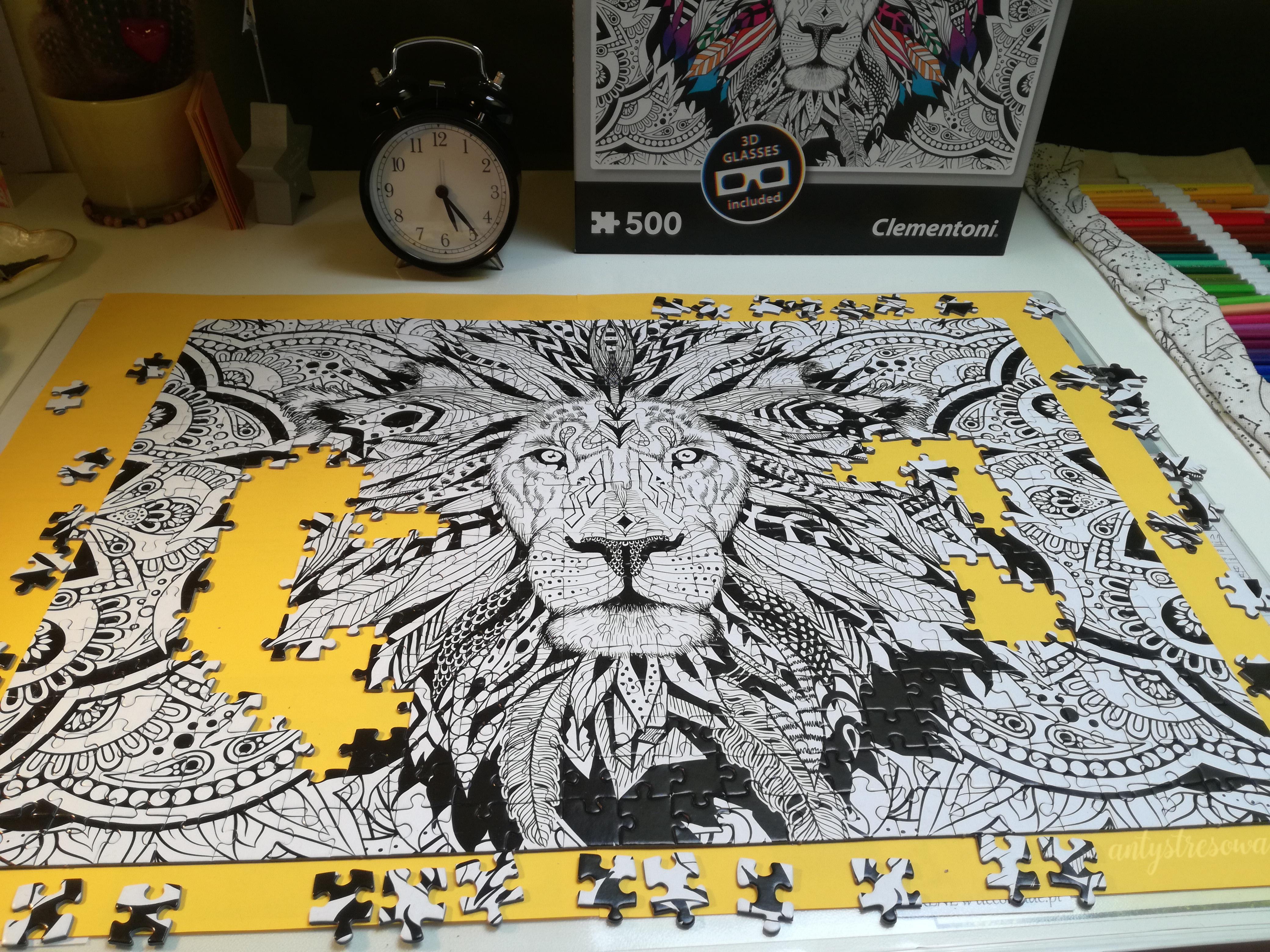 Prawie gotowe puzzle