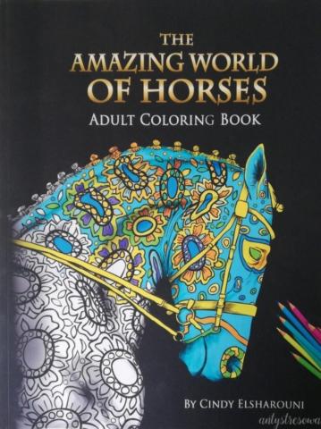 Okładka książki Amazing world of horses