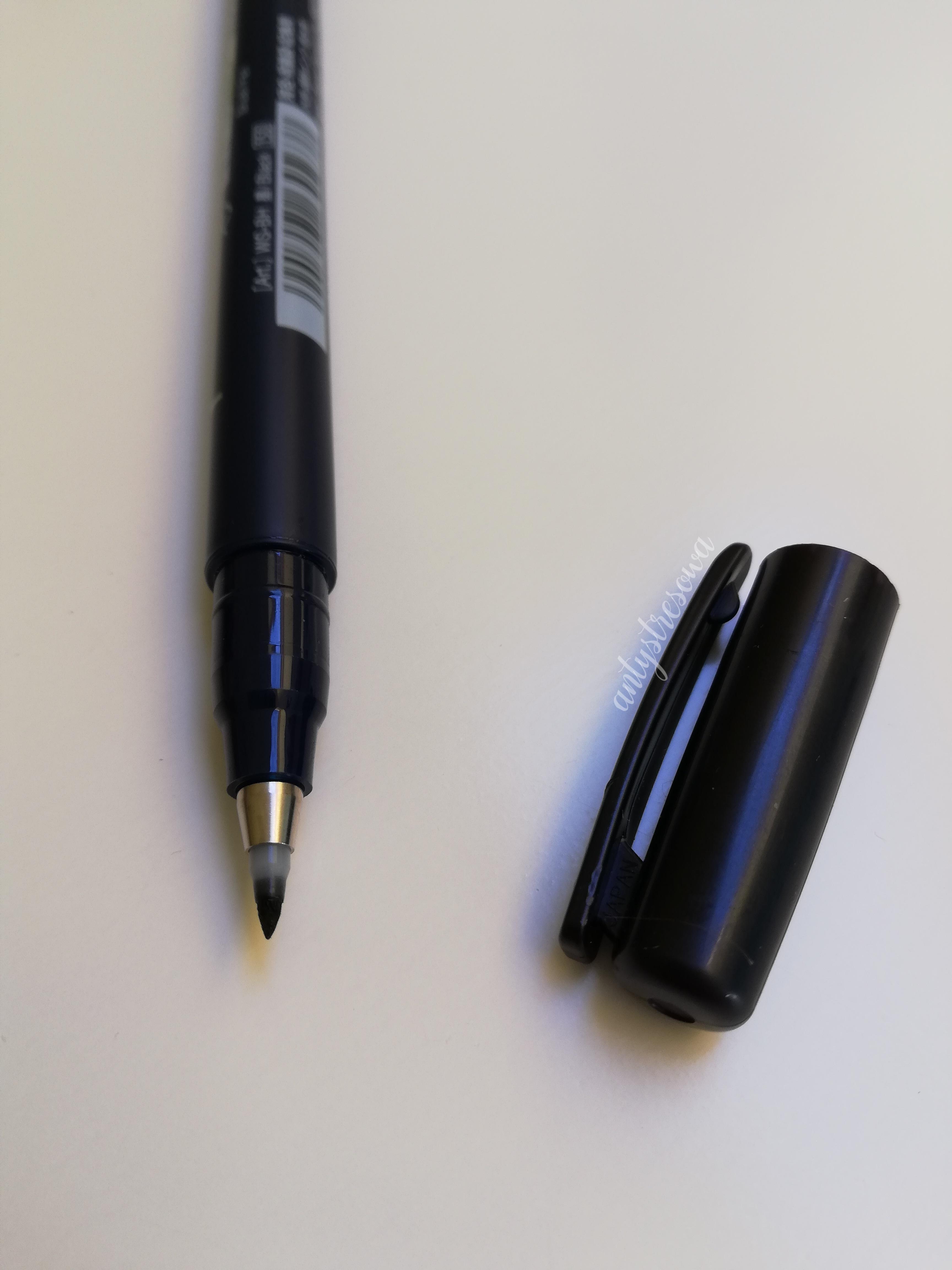 Brush Pen Tombow z twardą końcówką