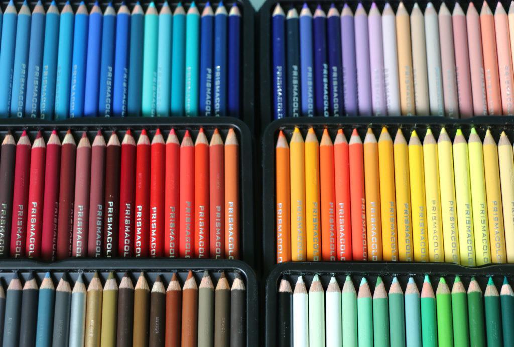 Tacki z kredkami Prismacolor Premier 150 sztuk