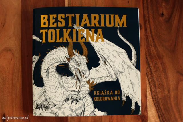 Okładka Bestiarium Tolkiena