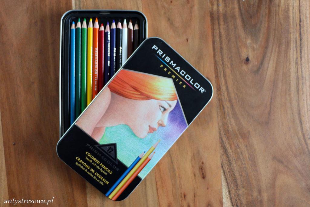Najmniejszy zestaw kredek Prismacolor Premier - 12 sztuk