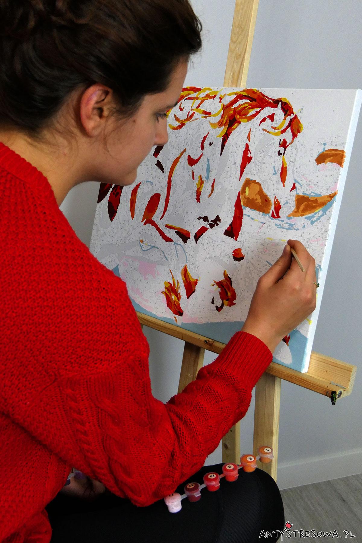 Malowanie przy sztaludze