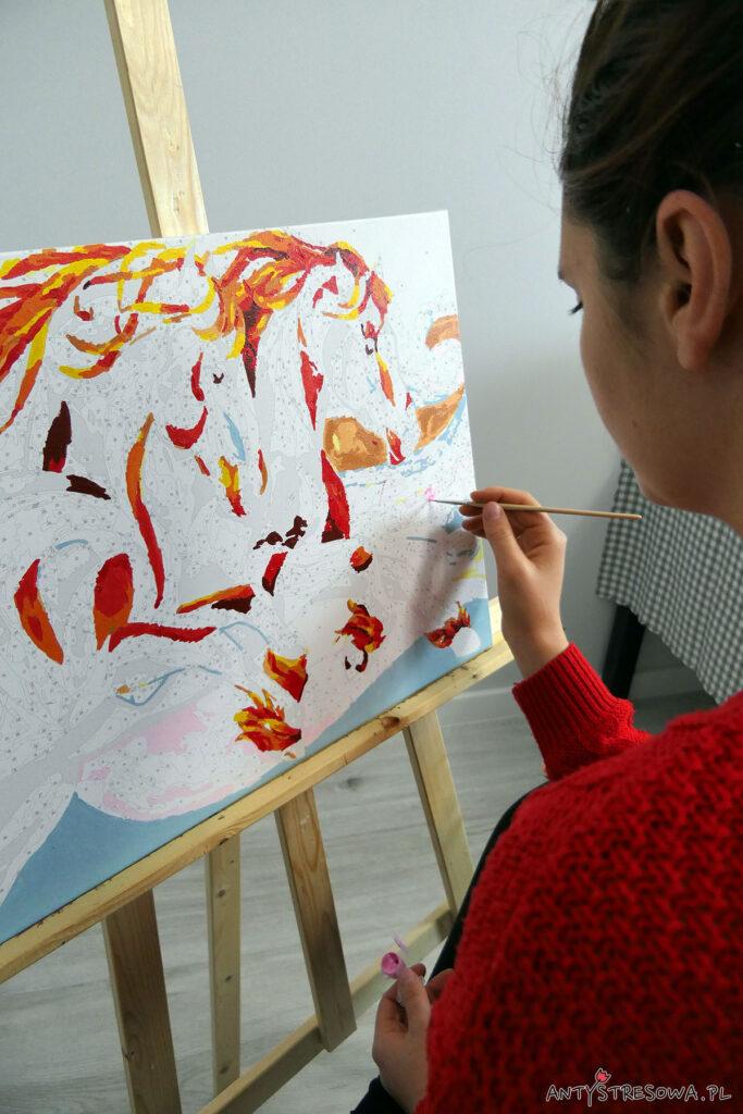 Grzywą malowane - konie