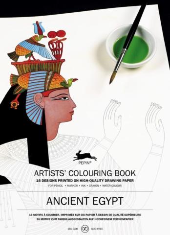 Okładka książki Artists' Colouring Book Ancient Egypt