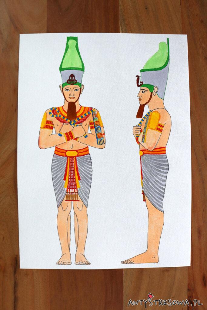 Faraon - Artists' Colouring Book Ancient Egypt