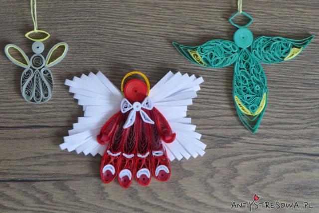 Aniołki z Quillingu