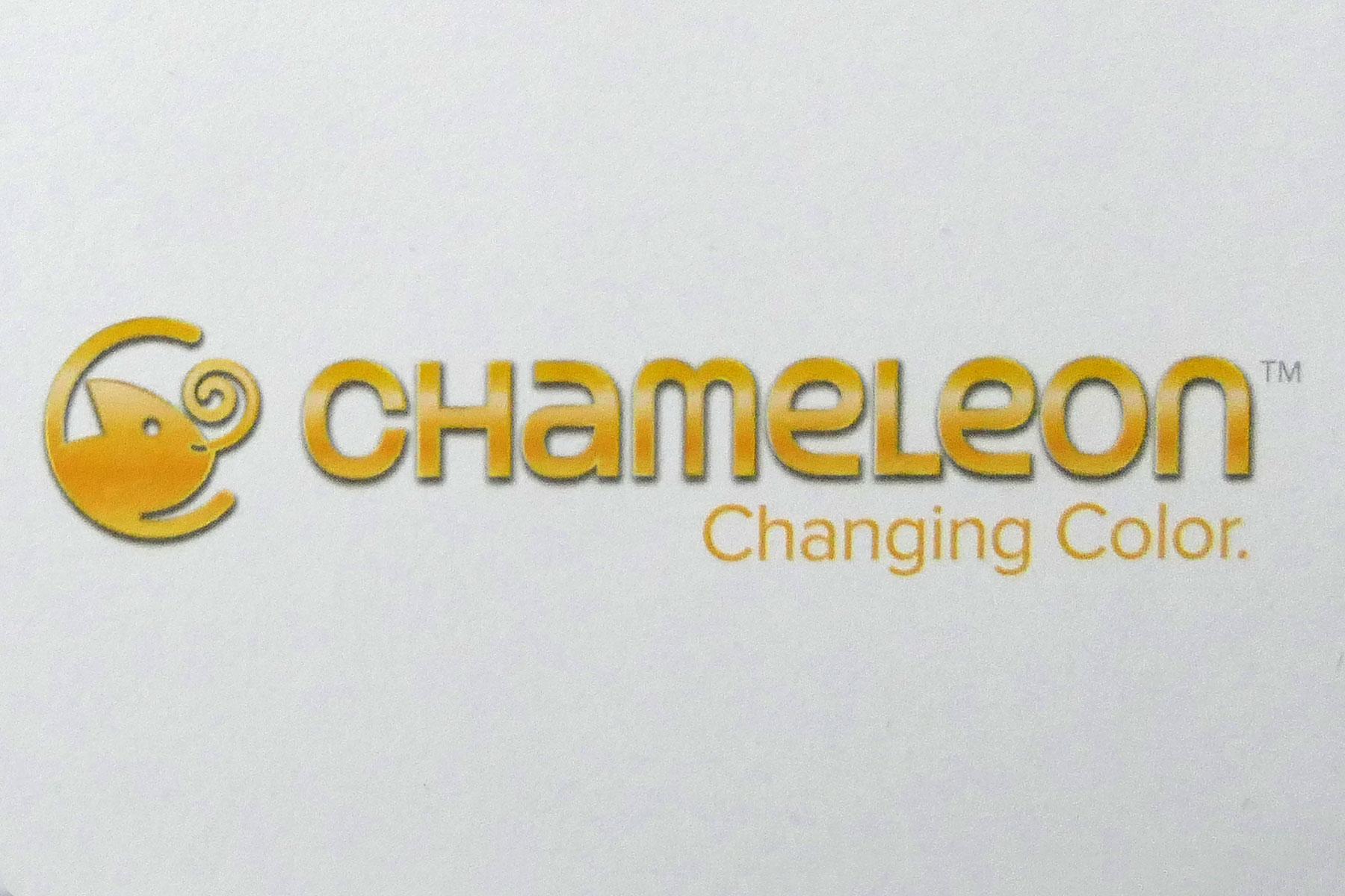 Logo firmy Chameleon produkującej markery