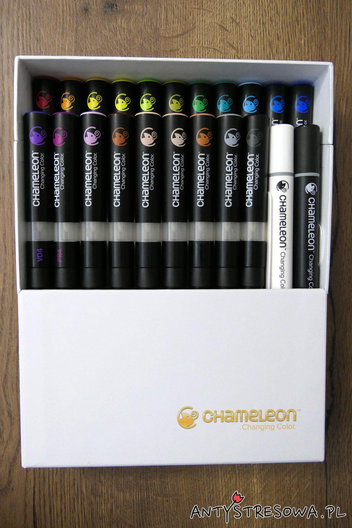 Chameleon zestaw 22 sztuk
