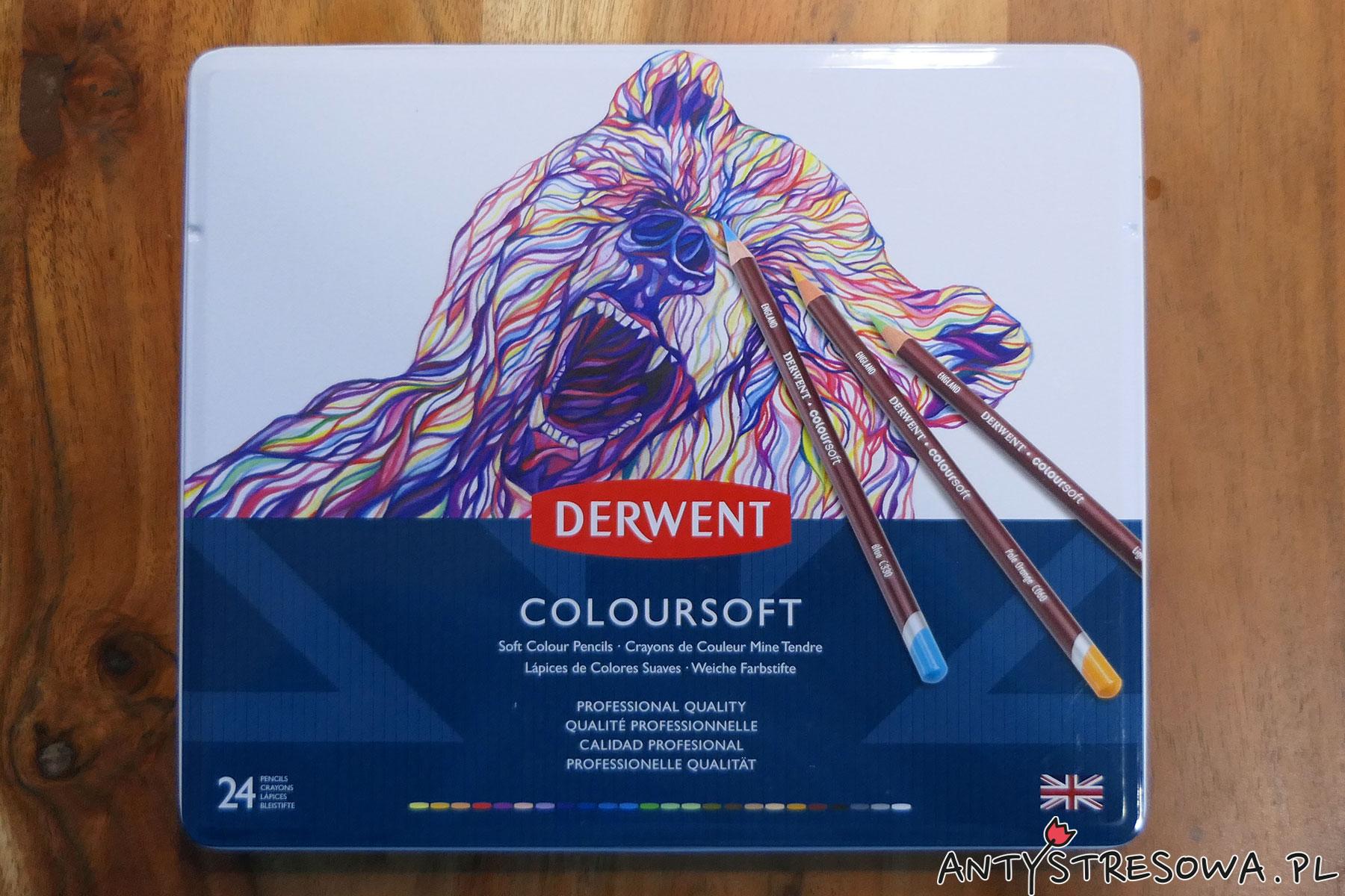Kredki Derwent Coloursoft 24 kolory - test i recenzja