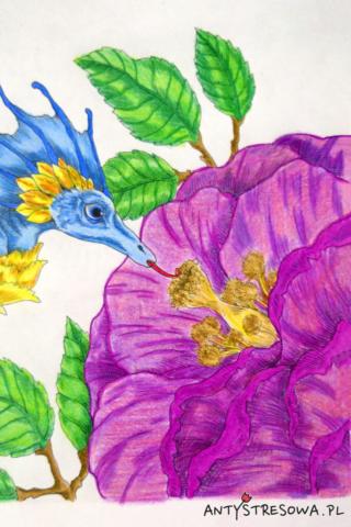 Obrazek z  książki Vintage Classic Colouring Pages II, Tatiana Bogema Stolova