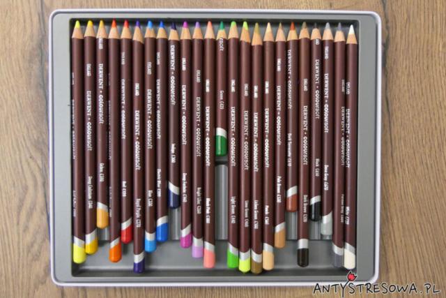 Kredki Derwent Coloursoft 24 kolory