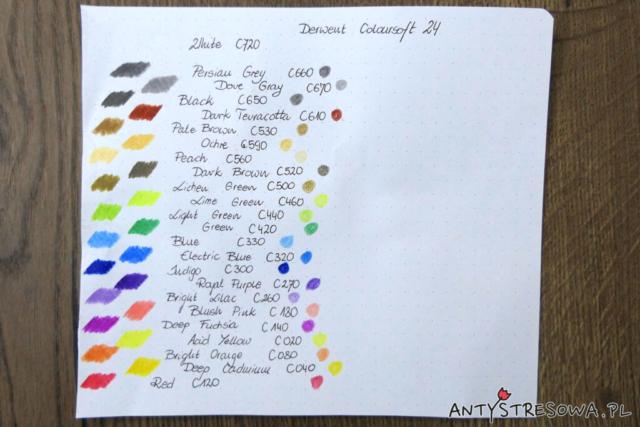 Derwent Coloursoft - test i recenzja