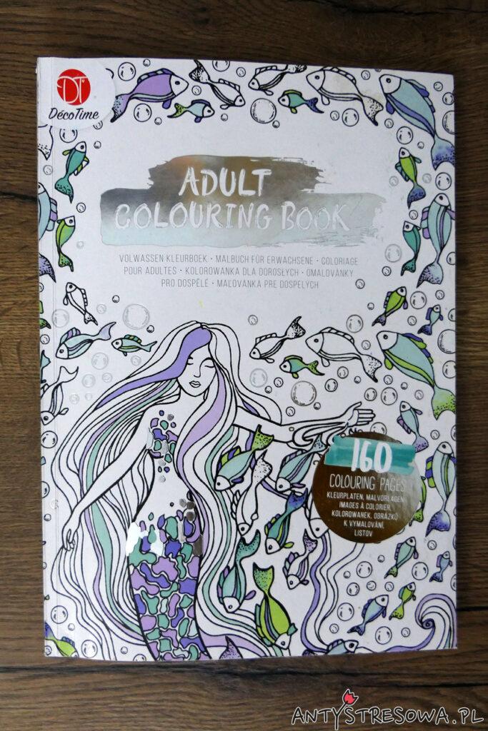 Okładka książki Adult Colouring Book Déco Time