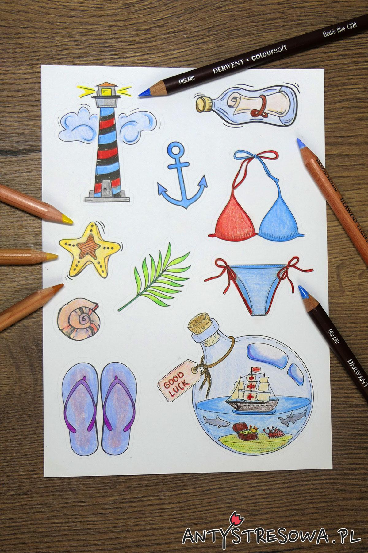 Colouring and Craft Book, kredki Lightfast i Coloursoft