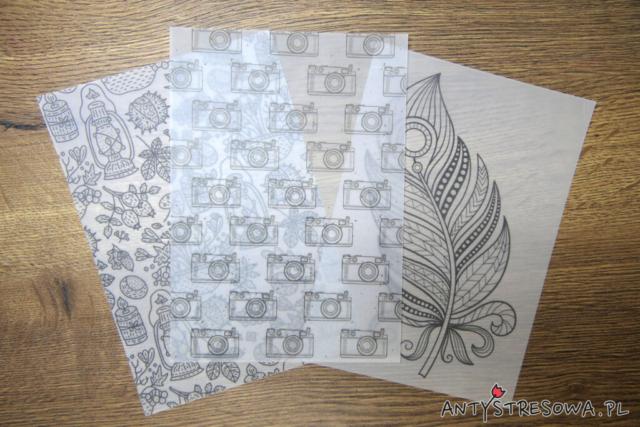 Colouring and Craft Book - arkusze papieru welinowego
