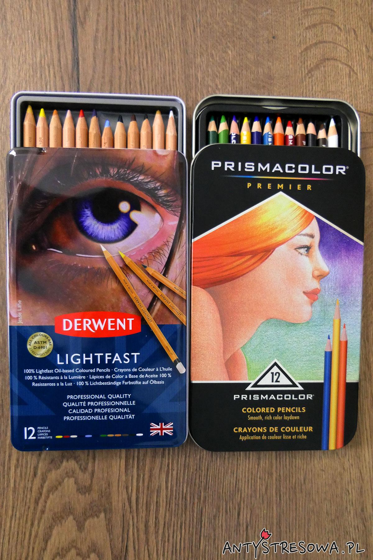 Derwent Lightfast, Prismacolor Premier 12 kolorów