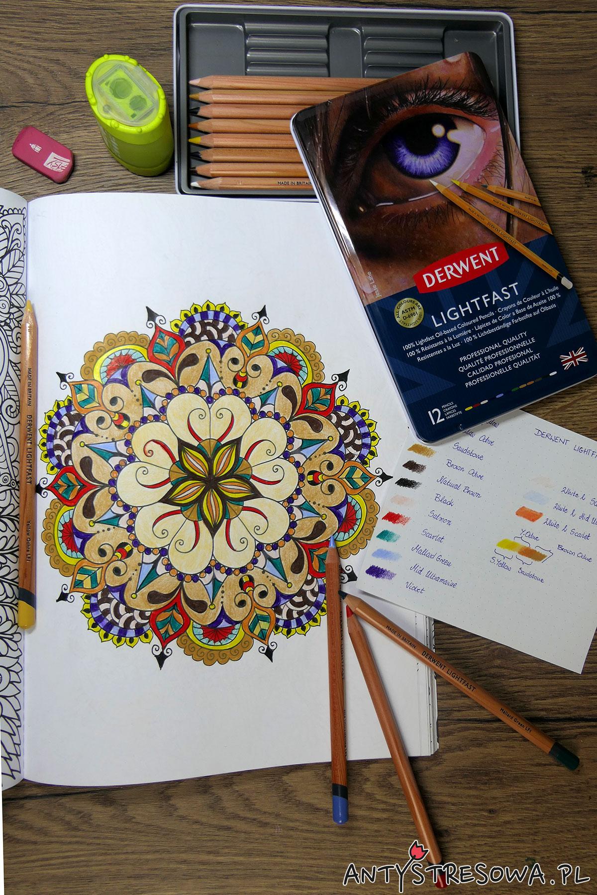Derwent Lightfast, Adult Colouring Book