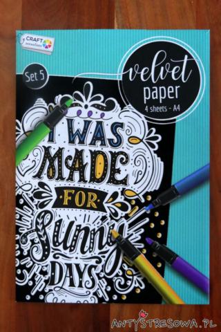 Velvet Paper firmy Craft Sensations