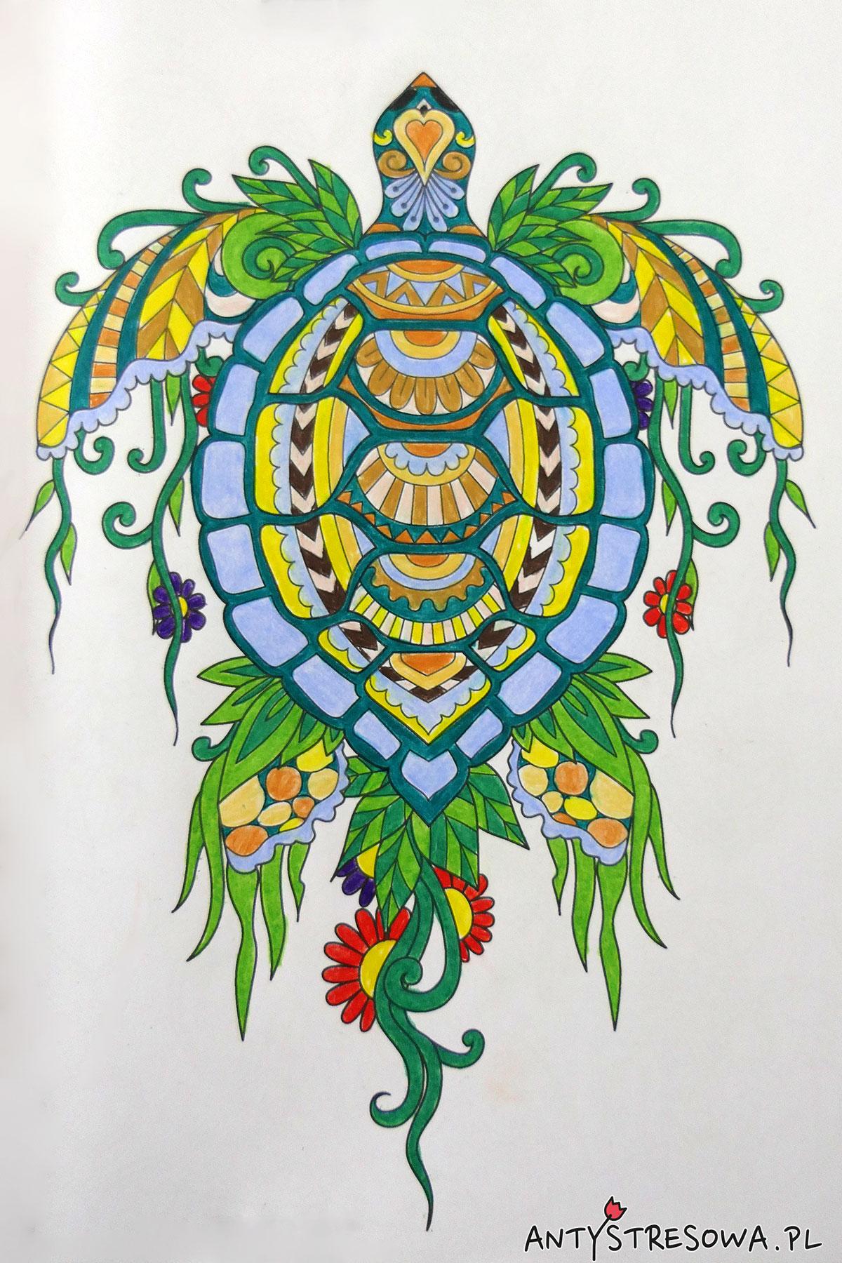 Adult Colouring Book Deco Time, kredki Derwent Lightfast 12
