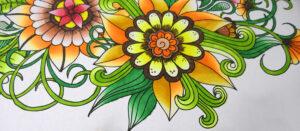 Adult Colouring Book - kolorowanka antystresowa od Déco Time