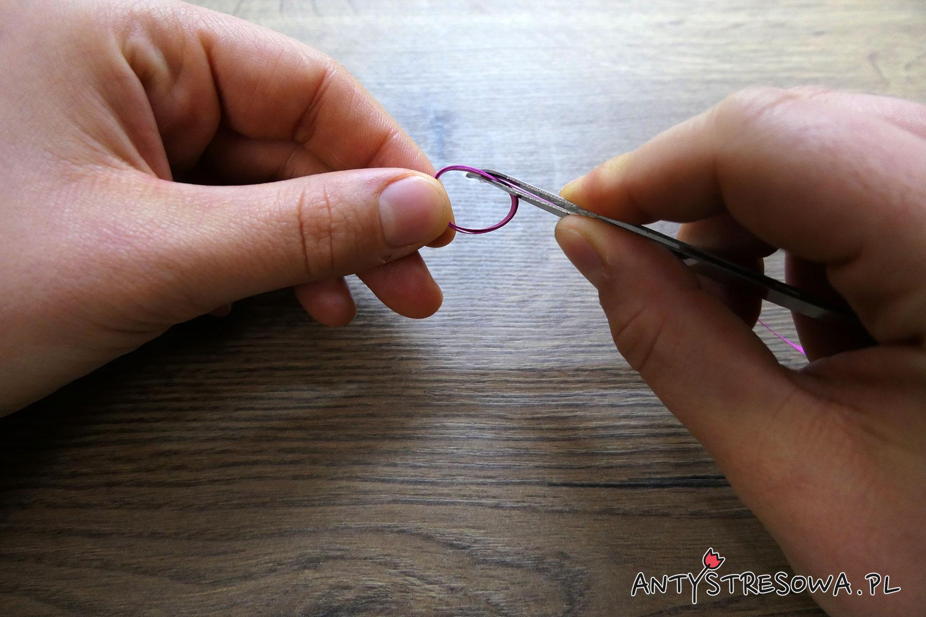 Formowanie obręczy z papieru