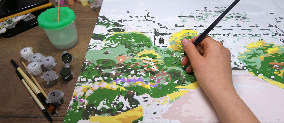 malowanie po numerach ze zdjęcia