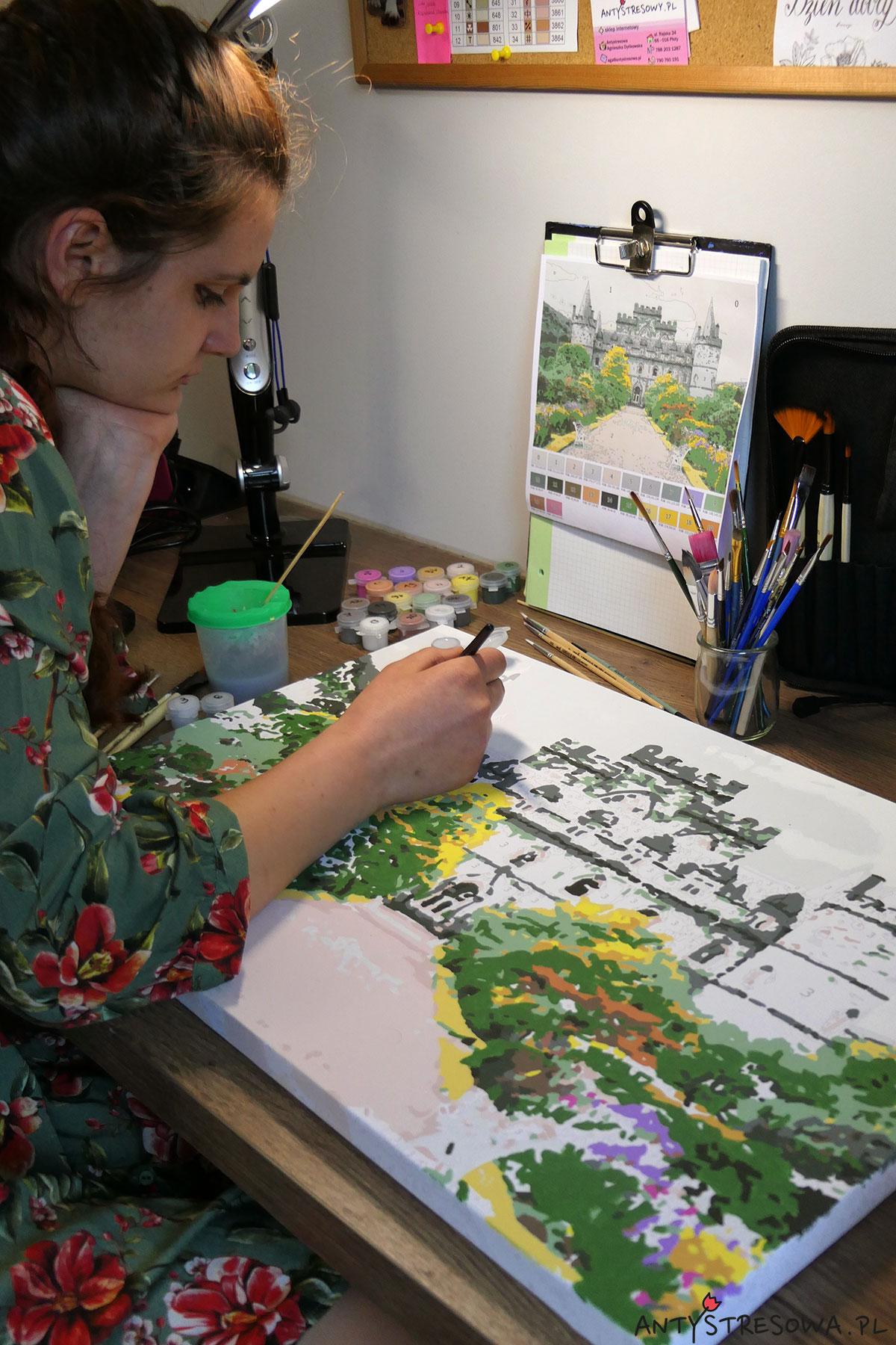 Maluję obraz po numerach z własnego zdjęcia