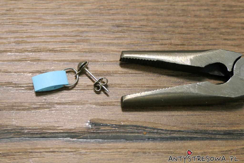 Mocowanie sztyftu do metalowego koła i koła do modułu