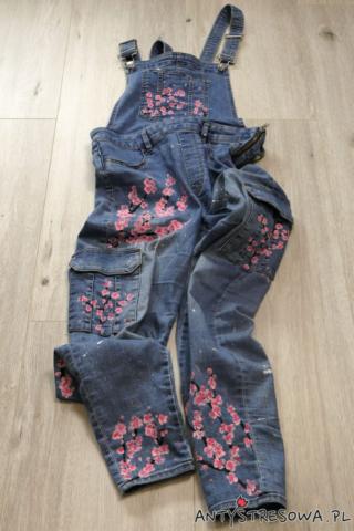 Malowanie jeansów farbami do tkanin