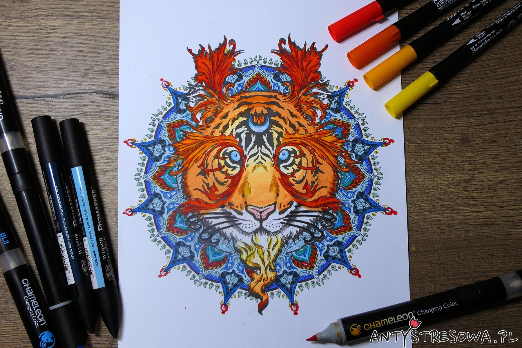 Tygrys-Mandalas Gone Wild, Dino Tomic