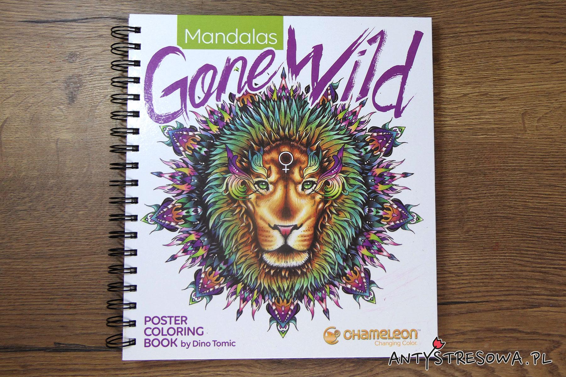 Mandalas Gone Wild - kolorowanka do markerów Chameleon