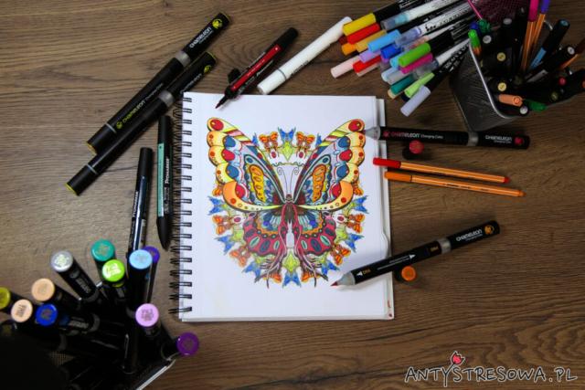 papier do farb i markerów