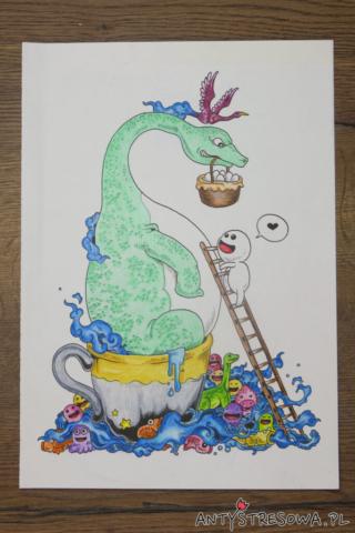 Doodle Invasion - dinozaur