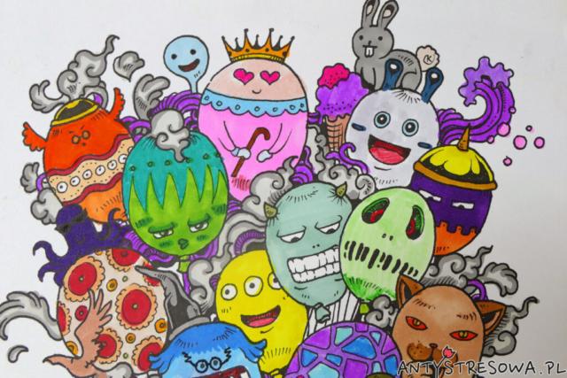 Charakterystyczy styl rysowania - Kerby Rosanes
