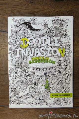 Inwazja Bazgrołów, Doodle Invasion - Kerby Rosanes. Recenzja kolorowanki