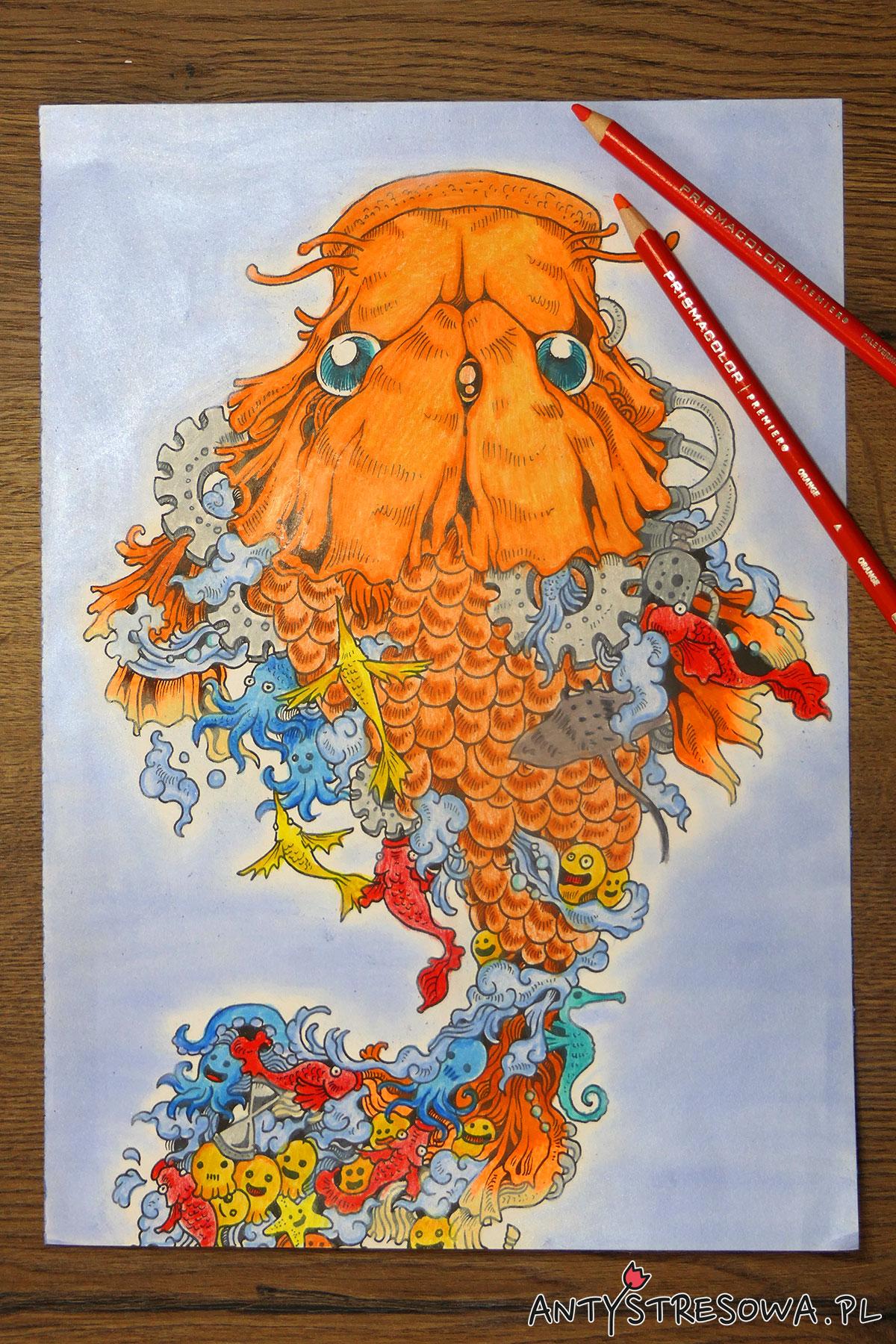 Doodle Invasion - rybka