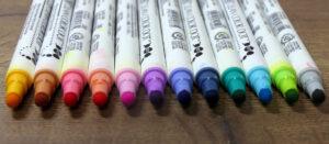 Pisak w kształcie kulki - Kuretake Clean Color Dot