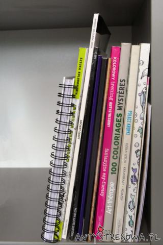 Kolekcja kolorowanek antystresowych