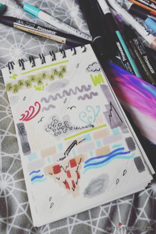 Kształty, kolory i skojarzenia w rysowaniu
