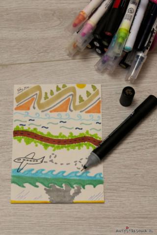 Rysowanie jako podsumowanie dnia