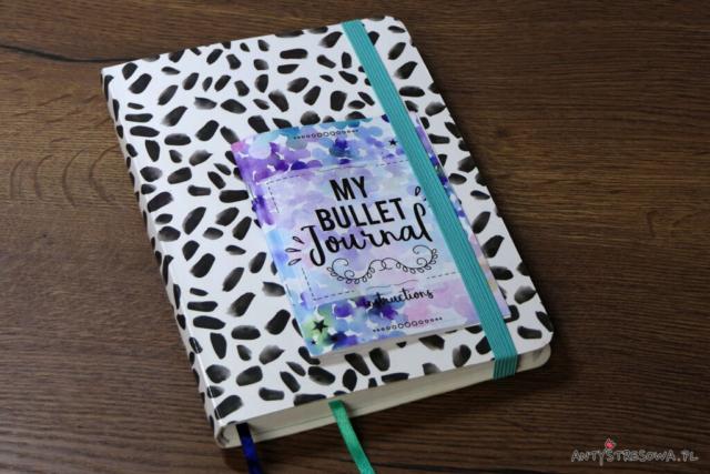 Zeszyt do Bullet Journal w kropki