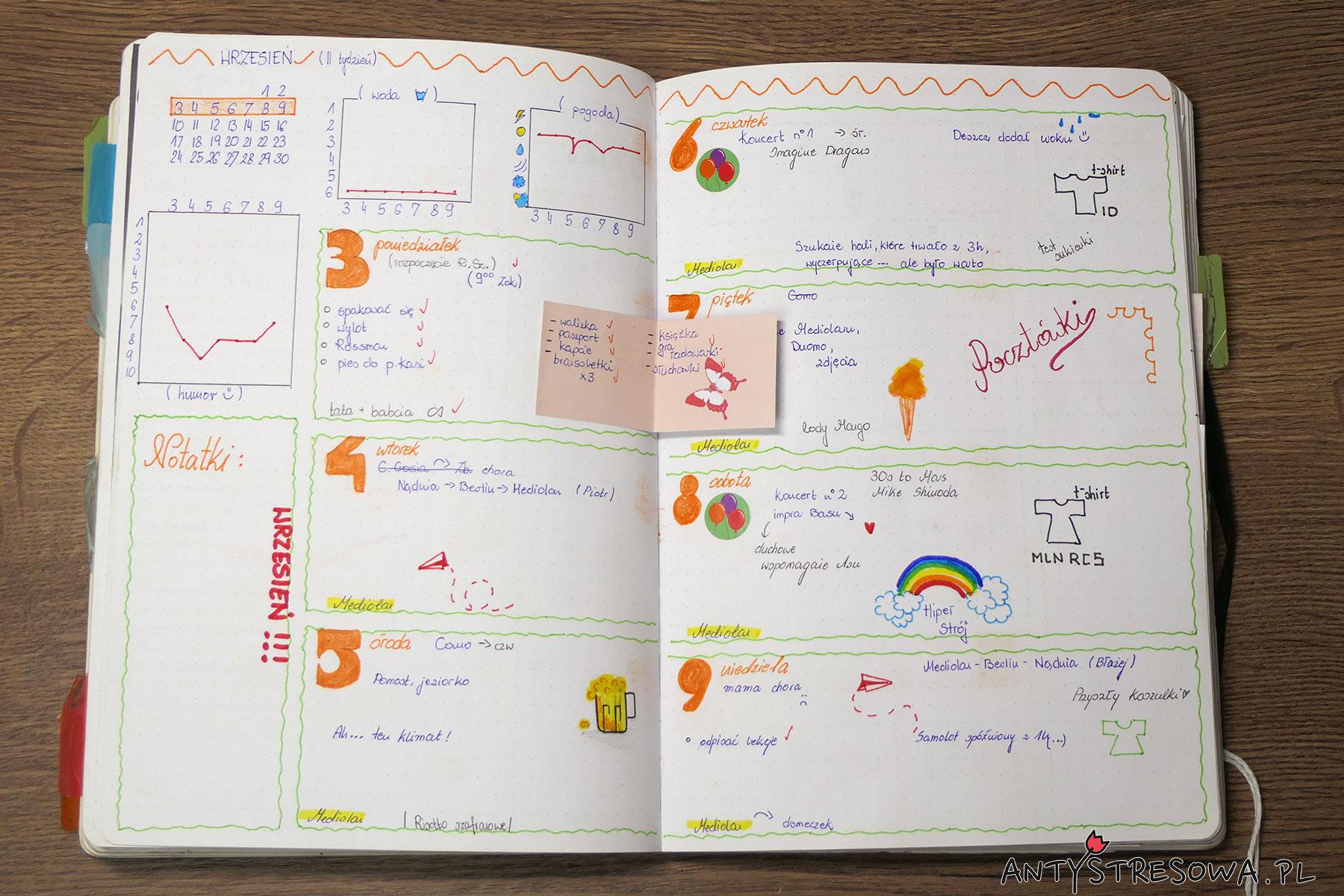 Planowanie w dzienniku